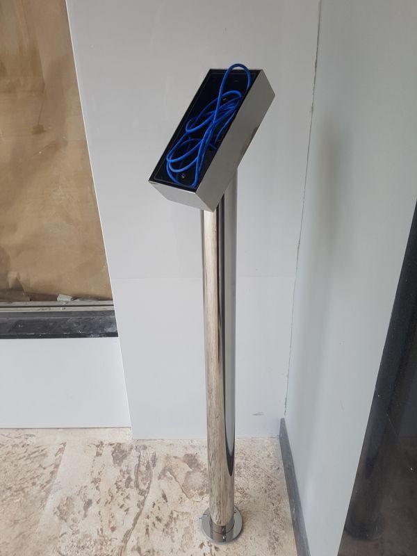 Coluna de inox