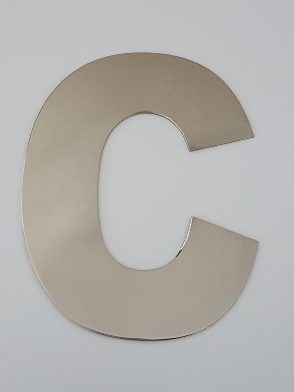 Fabrica de letras em aço inox