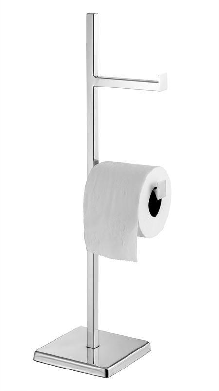 Papeleira inox para banheiro